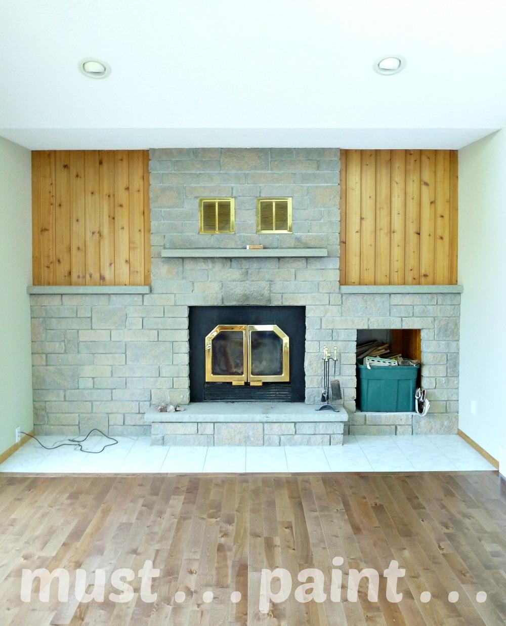 planning to paint a brick fireplace inspiration dans le lakehouse