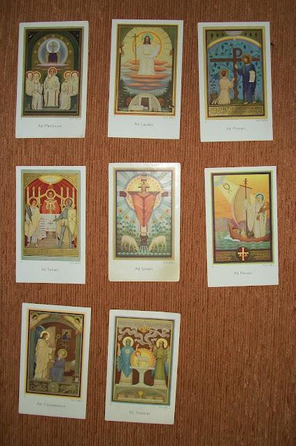 Liturgii Sexta nona tertia prima modlitwa paray
