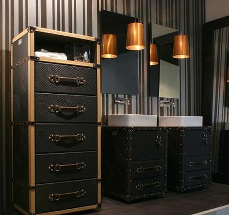 Lux,+dekoratif+banyo+dolap+modeli Banyo Dekorasyonuna Özel Tasarımlar Eklendi