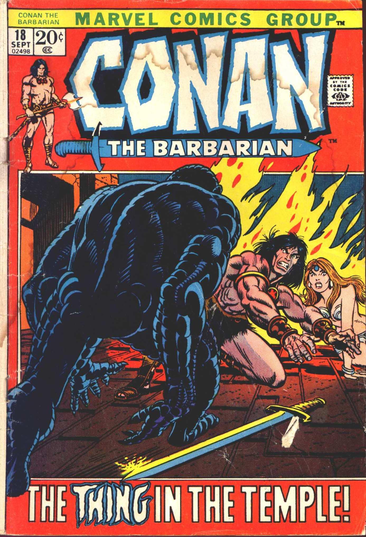 Conan the Barbarian (1970) Issue #18 #30 - English 1