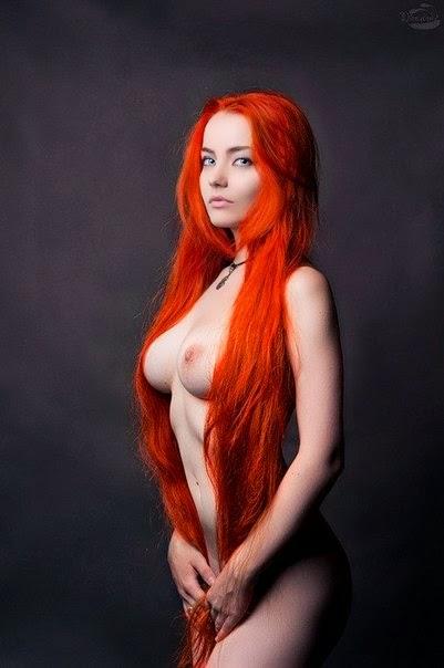 Фото рыжих красивых голых девушек