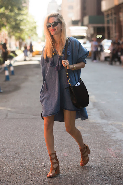 vestido jeans largo