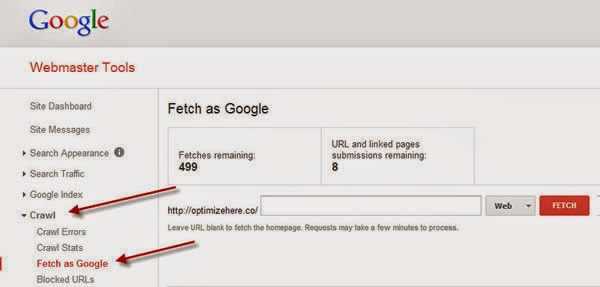 Index your new blog posts to google search with in 2 minutes