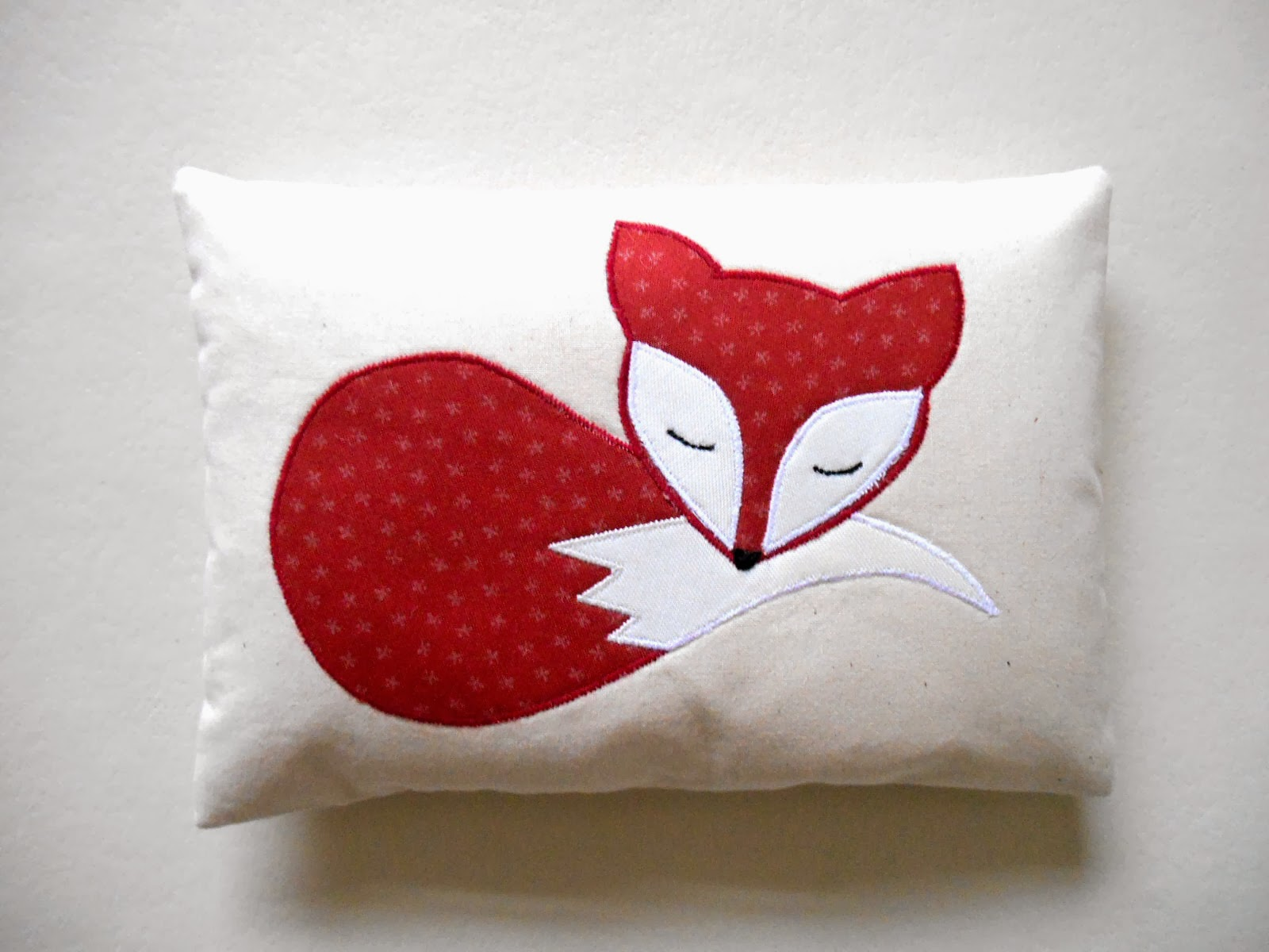 Fox Nursery decorative mini pillow