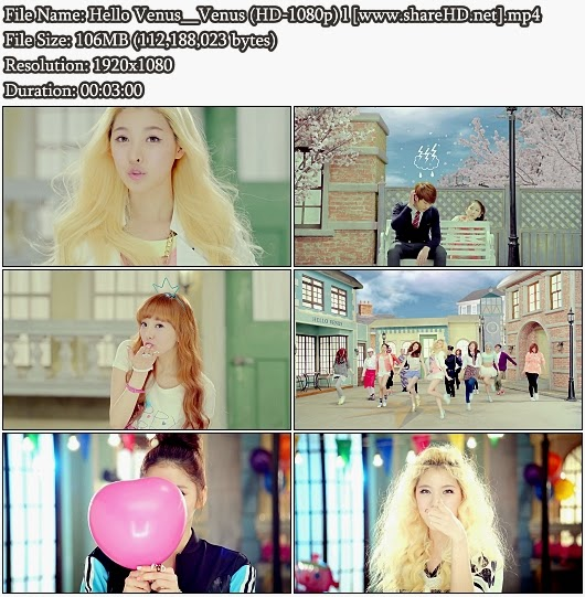 MV Hello Venus - Venus (Full HD 1080p)