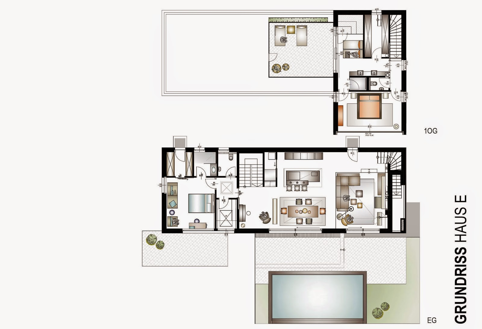 Projekt Haus E Leimgruber Innenraum