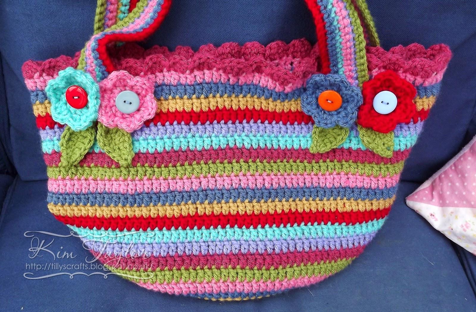 Tillys Crafts: Chunky Crochet Bag!