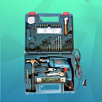 Bosch GSB 13 RE Tool Kit | Buy Bosch GSB 13 RE Tool Kit Online, India - Pumpkart.com