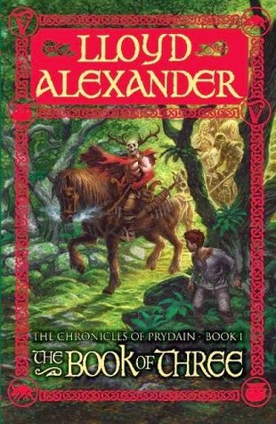 The cover of The Book of Three (Chronicles of Prydain) by Lloyd Alexander