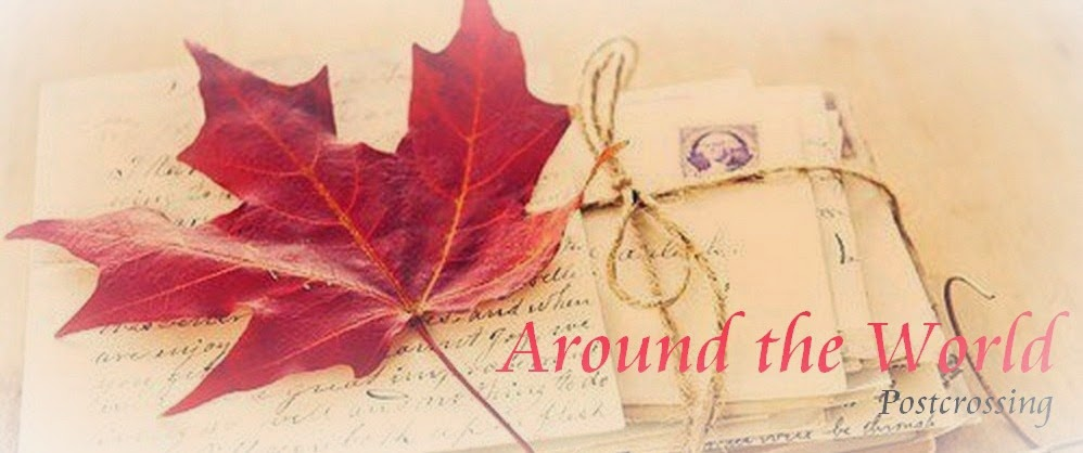 Around the World - Postcrossing