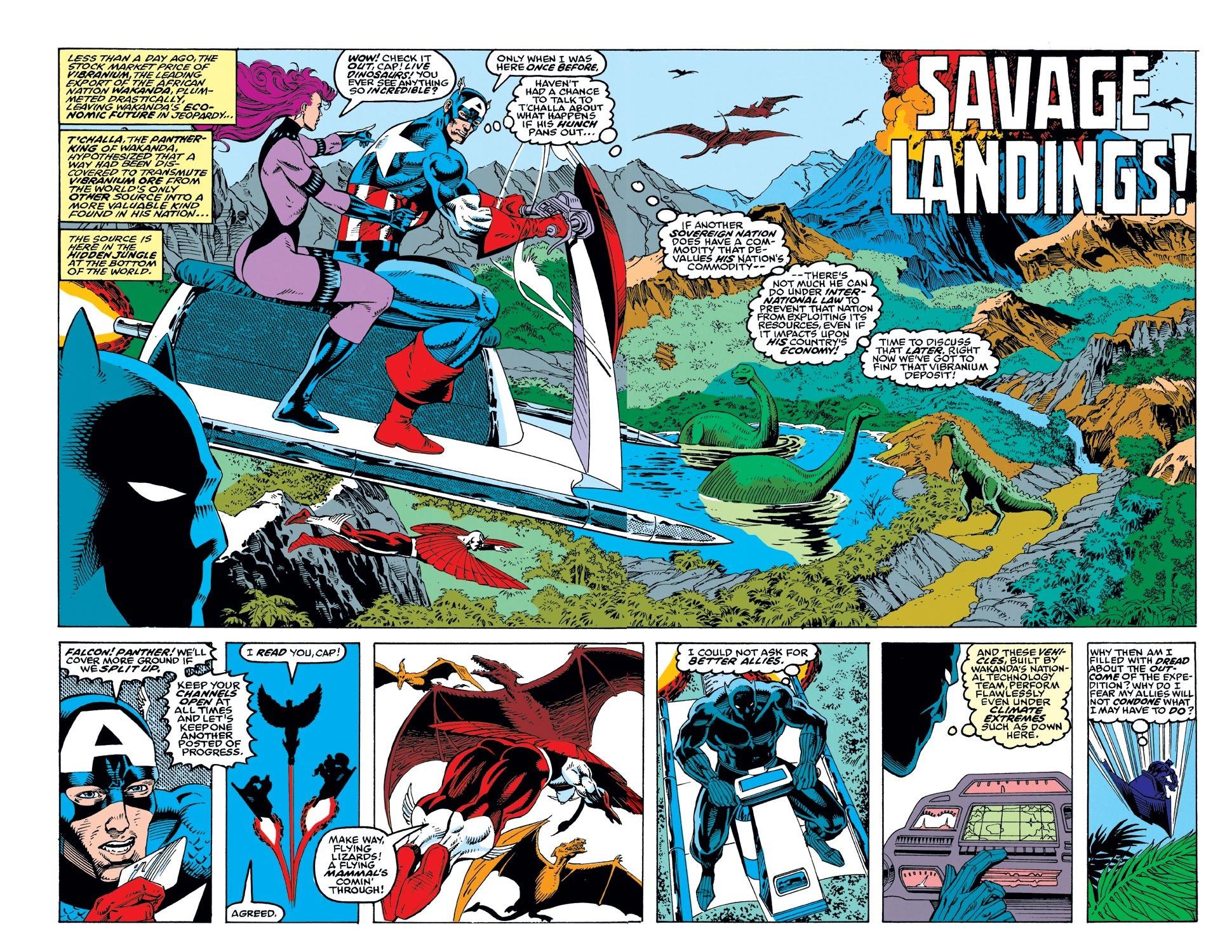 Captain America (1968) Issue #415 #364 - English 3
