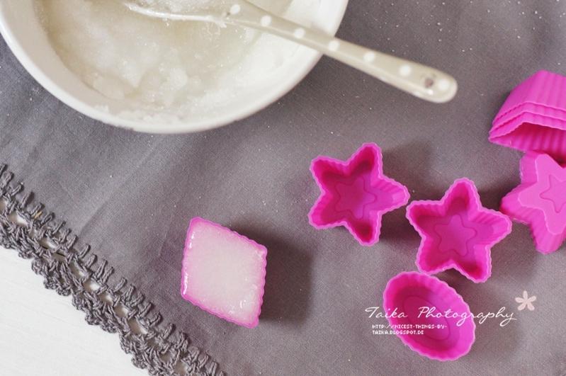 DIY Zuckerwürfel Würfelzucker Zucker Sterne