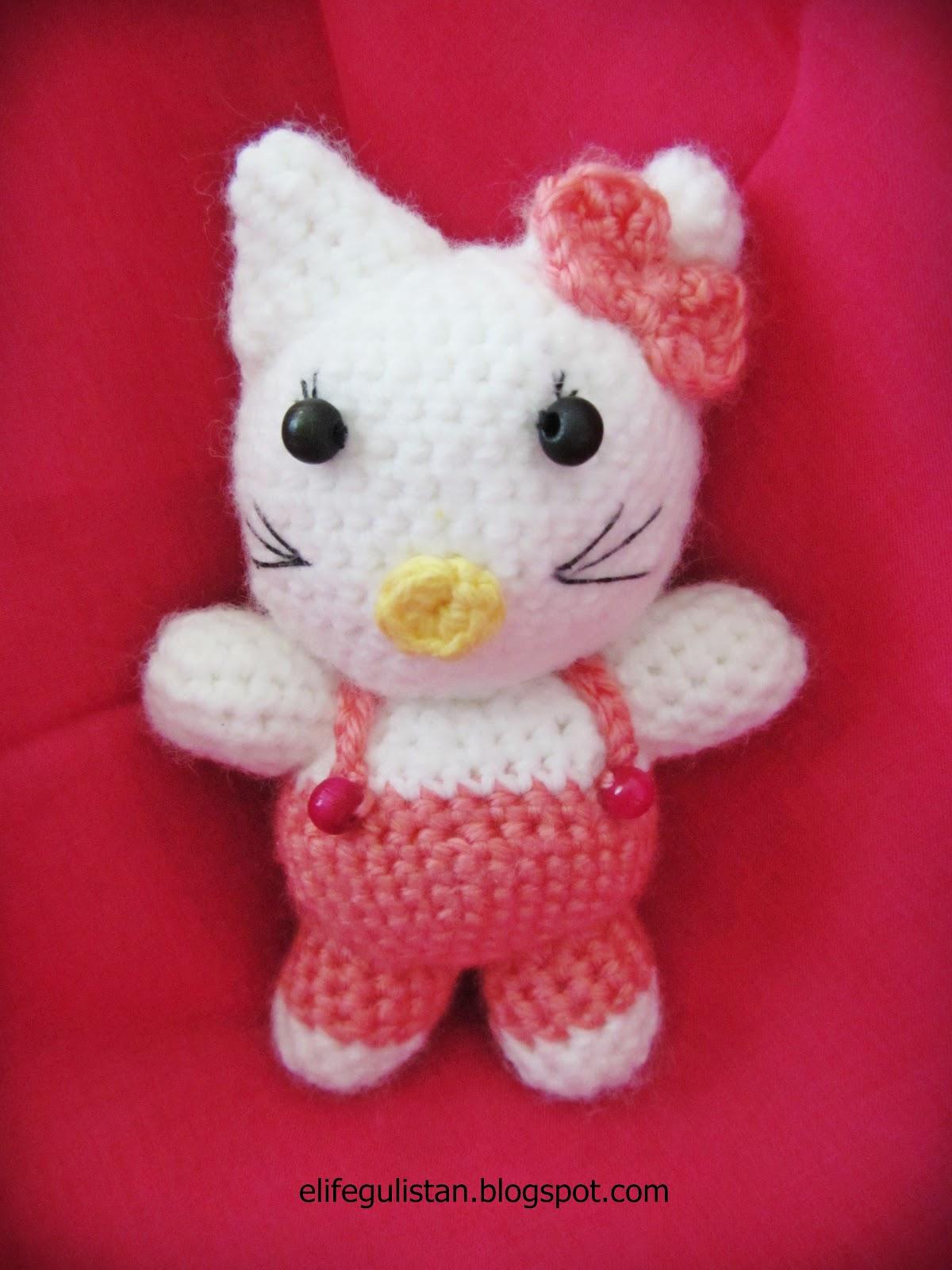 Crochet Doll Hat Pattern Free : Gulistan: Amigurumi Hello Kitty II