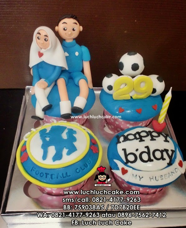 Cupcake Chelsea Romantis Untuk Suami