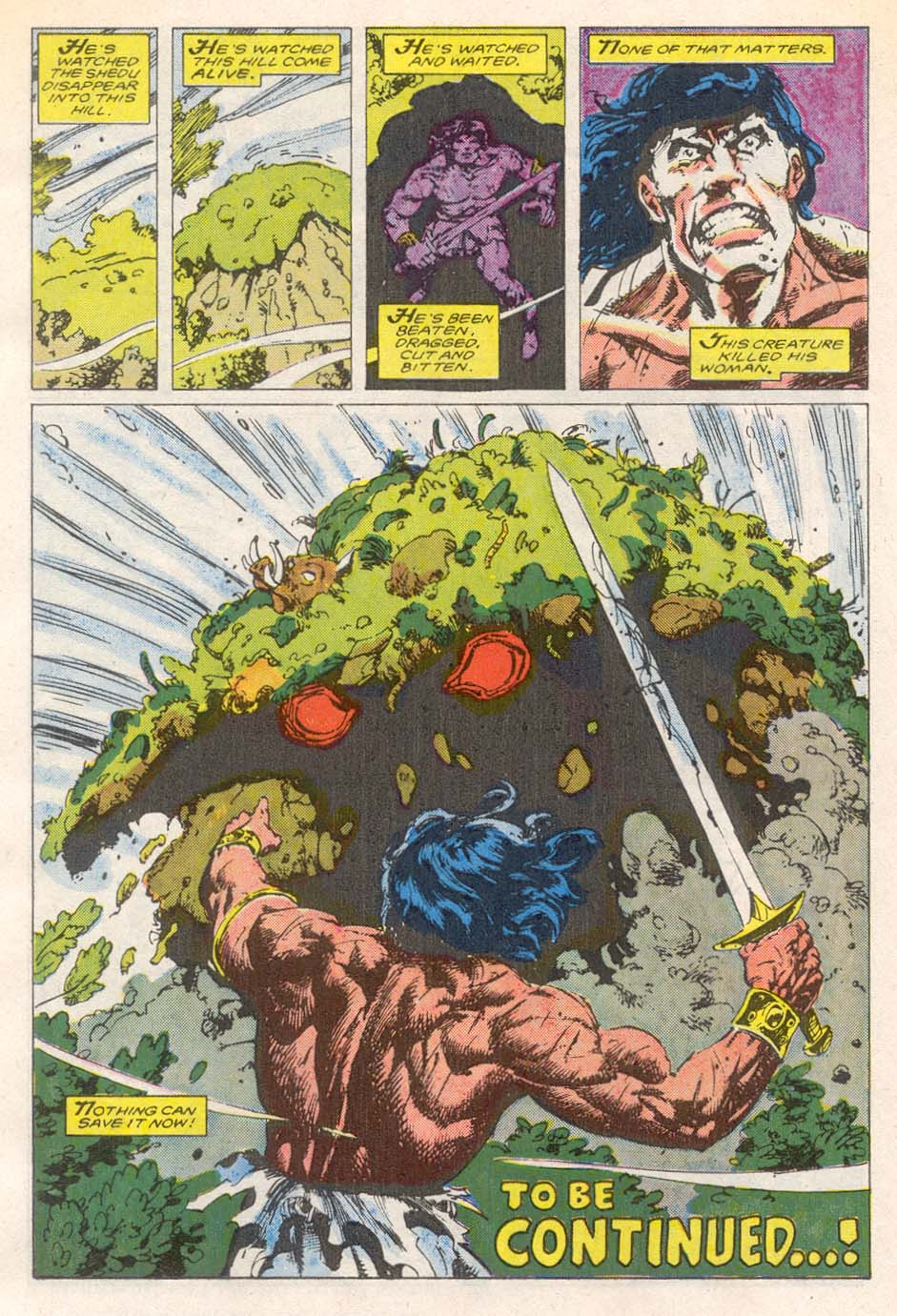 Conan the Barbarian (1970) Issue #193 #205 - English 23
