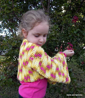 Swirls and Sprinkles: Crochet Shrug Pattern