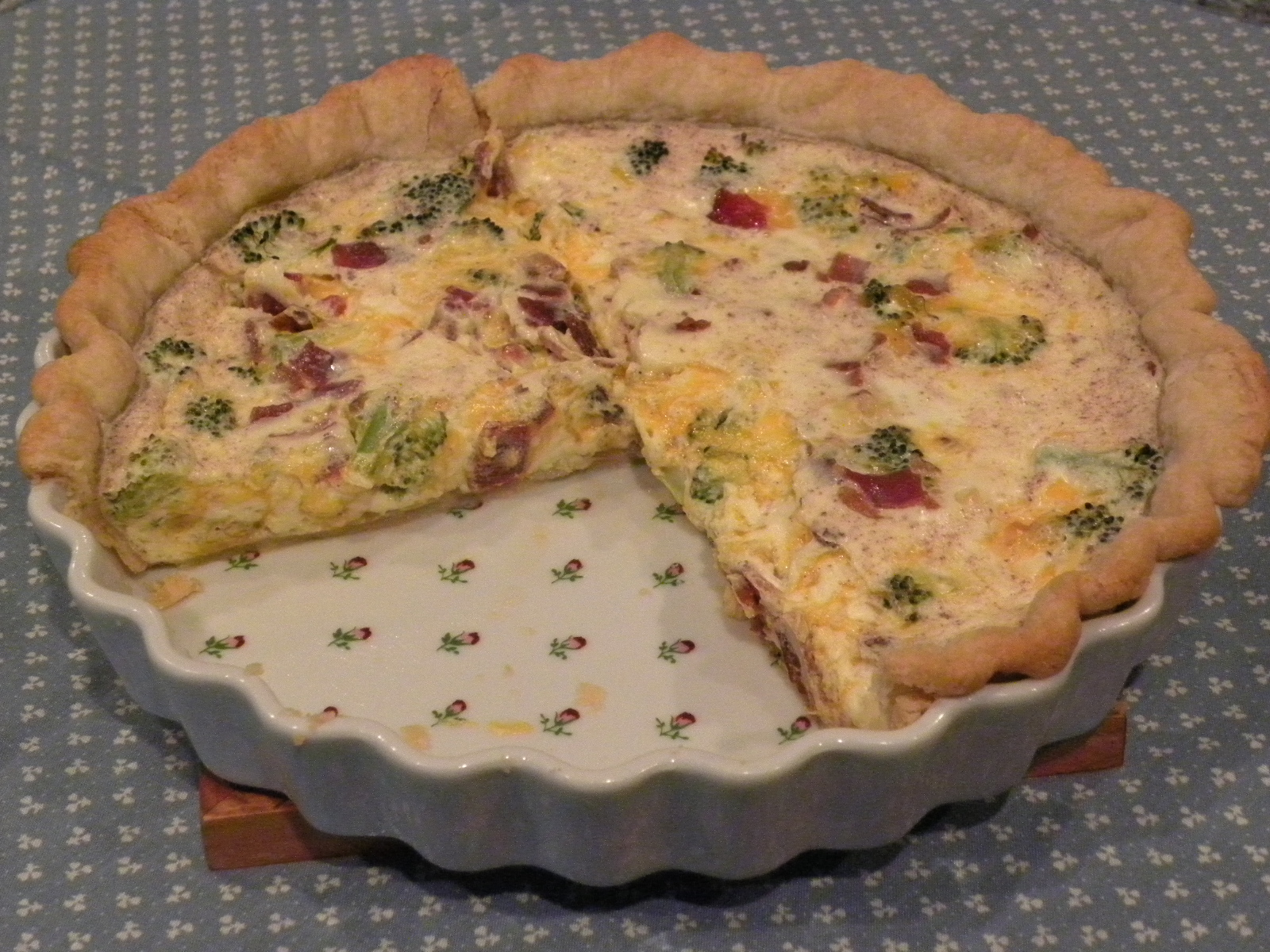 Ham and broccoli mini quiche - Cook and Post
