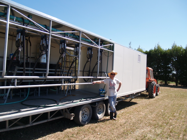mobile milking system