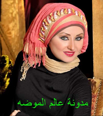 لفات طرح للمحجبات رقيقة و جميلة و جديده 2013