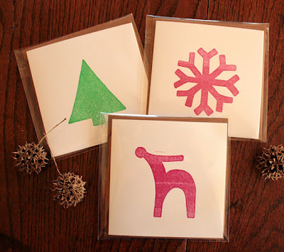 holiday greeting cards with envelope, printed at GotPrint