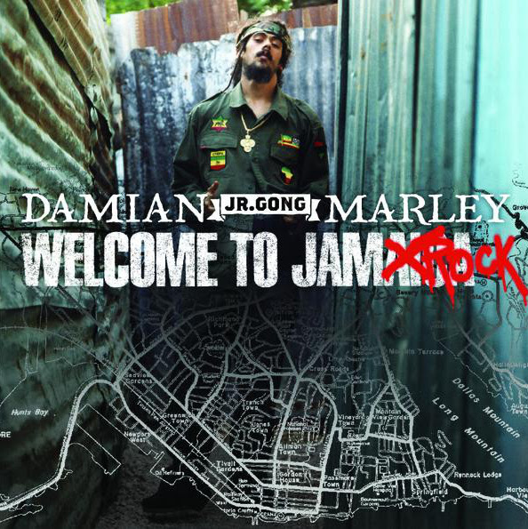 """Damian """"Jr. Gong"""" Marley - Welcome to Jamrock Cover"""