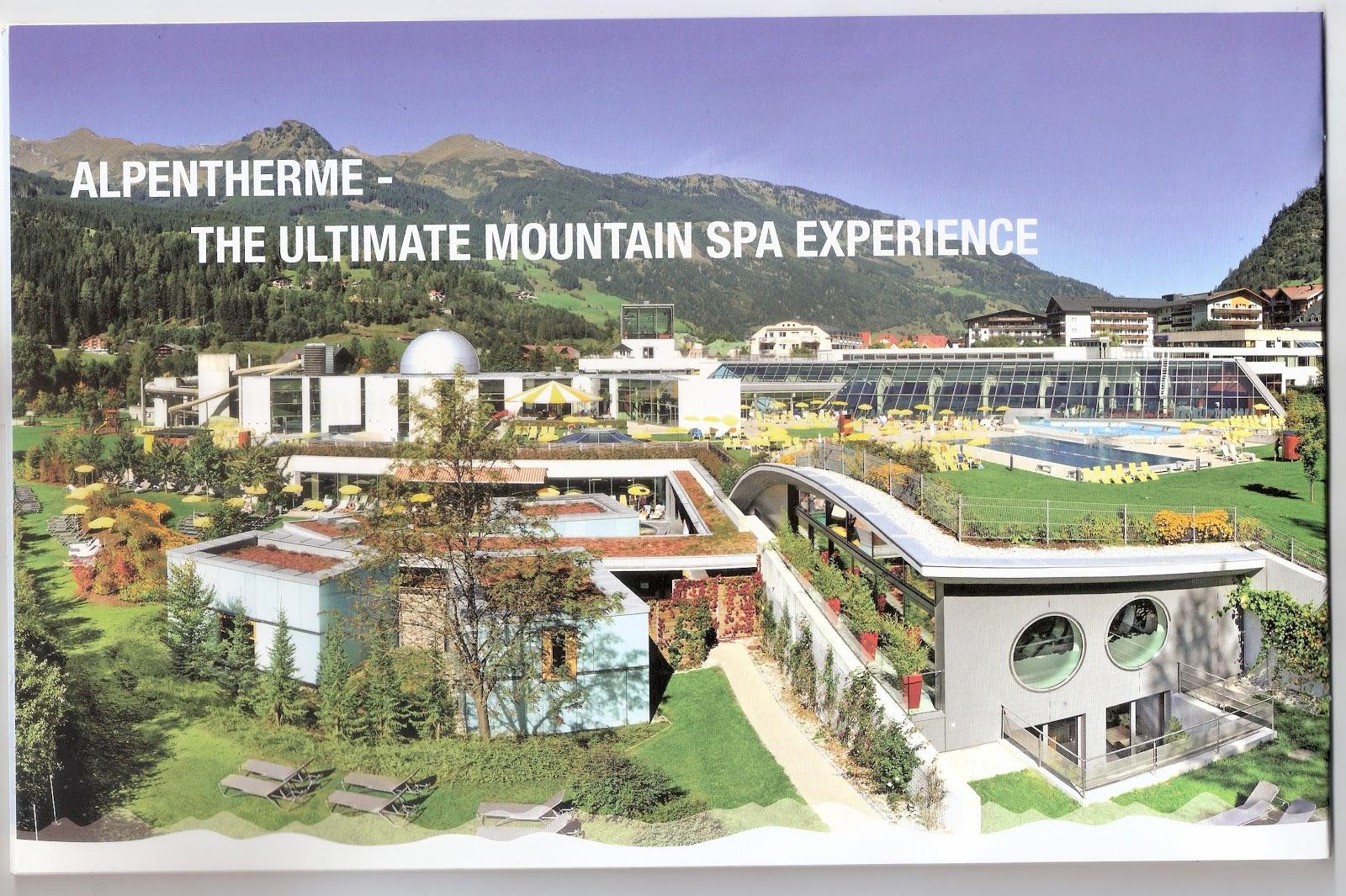 Alpentherme Spa,Bad Hofgastein in Austria