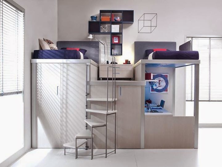 Awesome Space Saving Bedroom Design Ideas