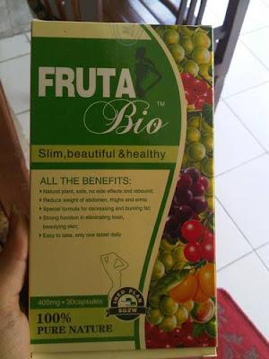 Fruta bio. 100% original new pack