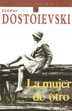Portada del libro la mujer de otro de dostoievski