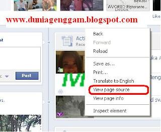 Cara Mengetahui siapa yang melihat profil Facebook kita (No Software)