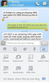GO SMS Pro 4.33 Apk | Samsung Galaxy Mini Messaging