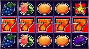 Sizzling hot as seen at online slot machine games
