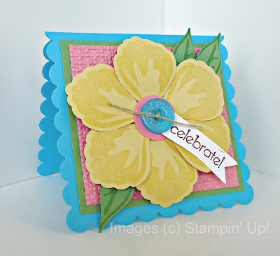 Build a Blossom and Blossom Petals Punch by Stampin' Up!