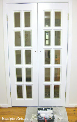 White french doors restyled for All glass french doors