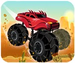 Xe tải vượt sa mạc, game dua xe