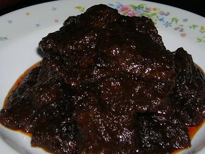 Resepi Daging Masak Hitam