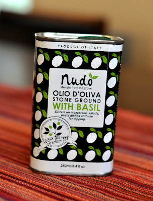 Nudo Olive Oil with Basil - Photo by Taste As You Go