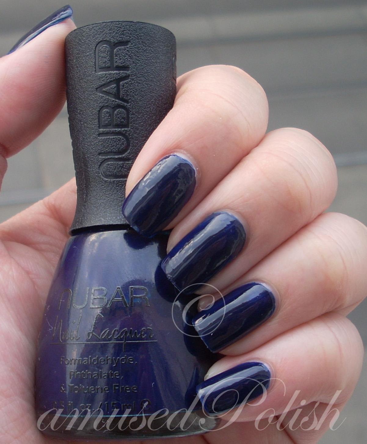 amusedPolish: Nubar Navy Blue