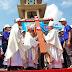 Giới trẻ Giáo phận Thái Bình đi tham dự ĐHGT Giáo tỉnh Hà Nội lần thứ X