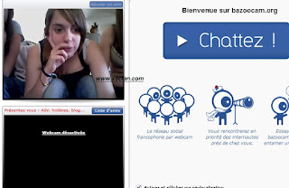 Bazoocam.org French Chat Website
