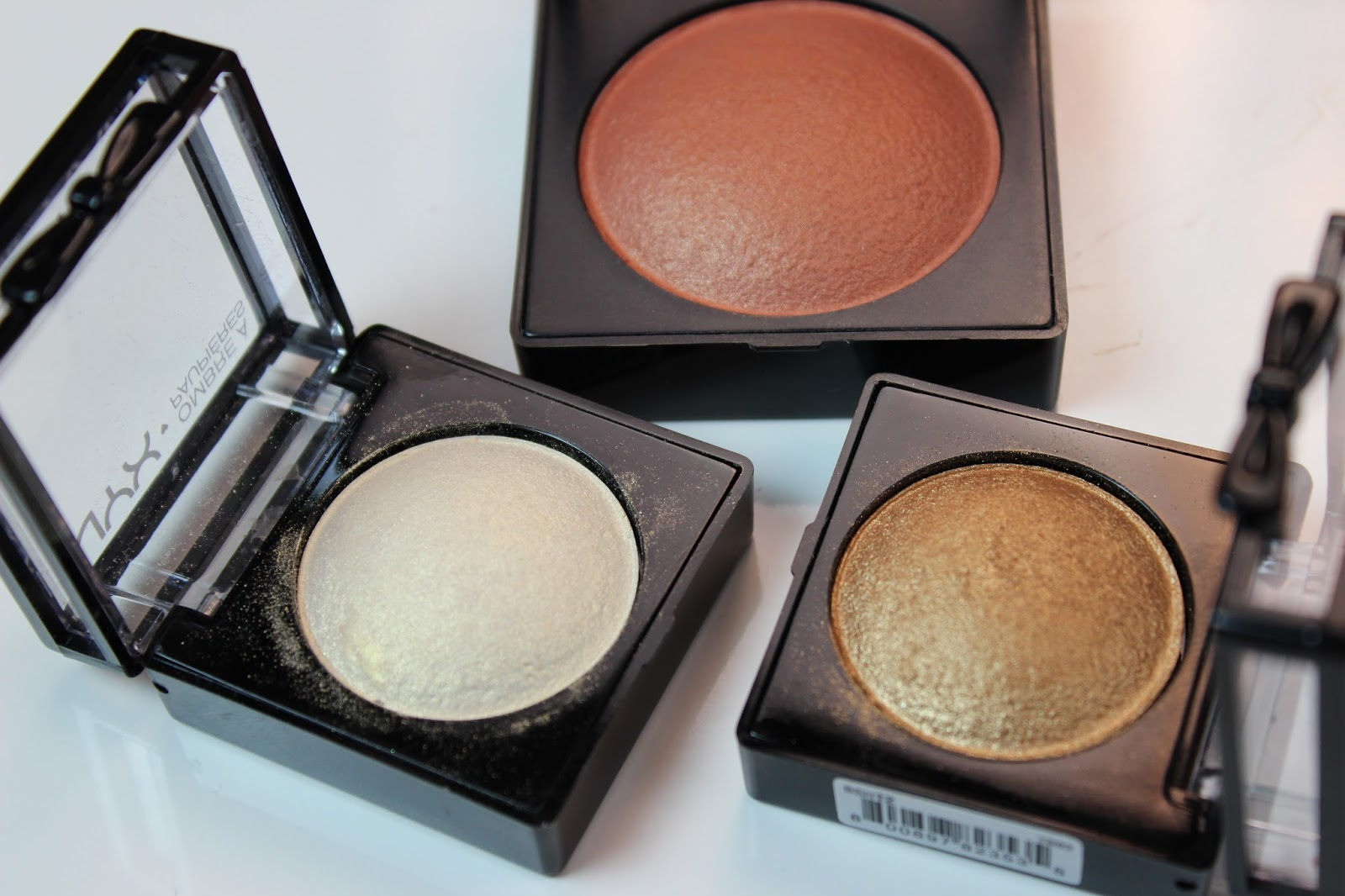 Nyx Baked Blush Ignite Nyx Baked Shadow Blush