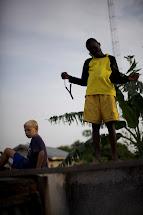 Tiesenga Family Walk Pamba With Boys