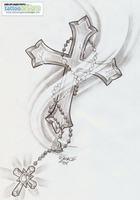 twin tattoo meaning tribal rosary cross 450 face shine by tattoo 716932565.jpg tattoo