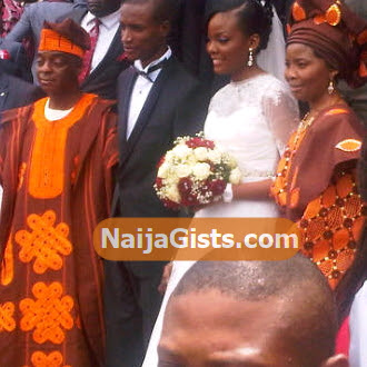 love oyedepo white wedding photos