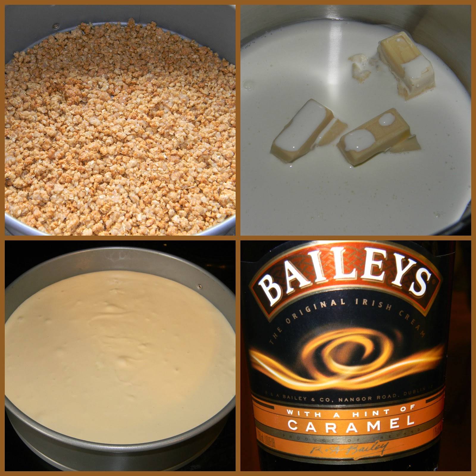 ... and more: Caramel Irish Cream Cheesecake with salted Caramel Sauce