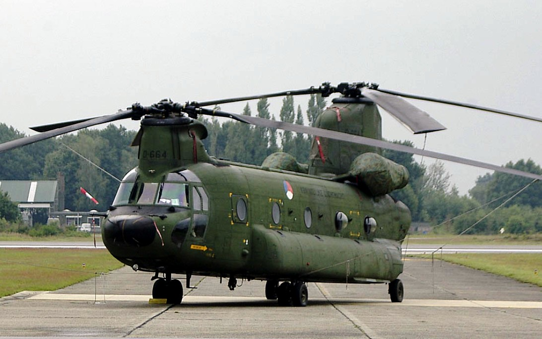 CH-47 Chinook Helicopter Wallpaper 4