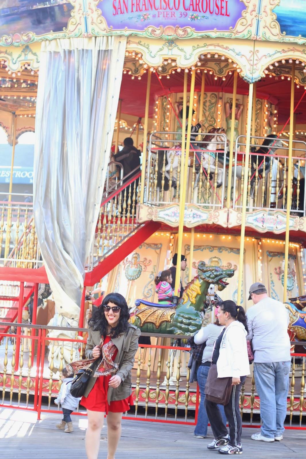Pier39 San Francisco Carousel