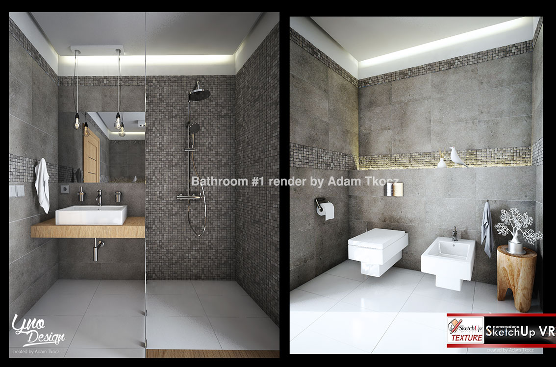 SKETCHUP TEXTURE: SKETCHUP MODEL BATHROOM