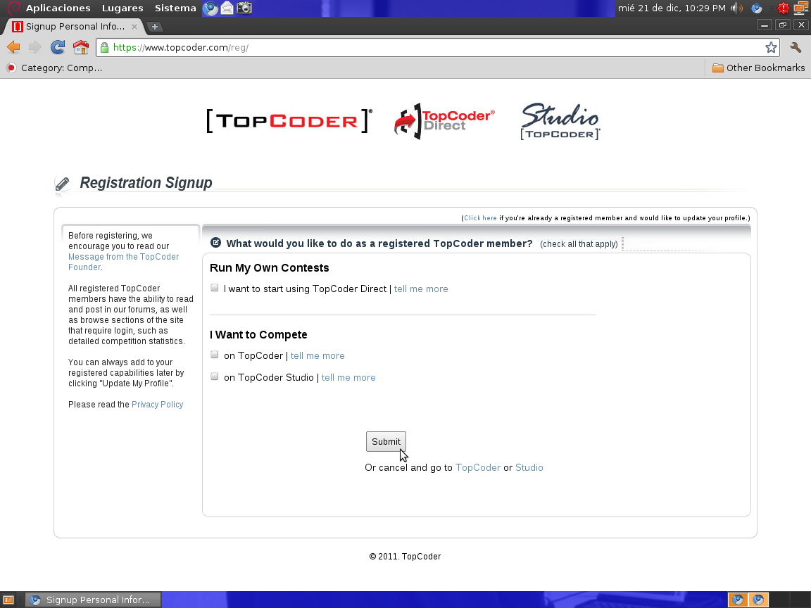 topcoder case study