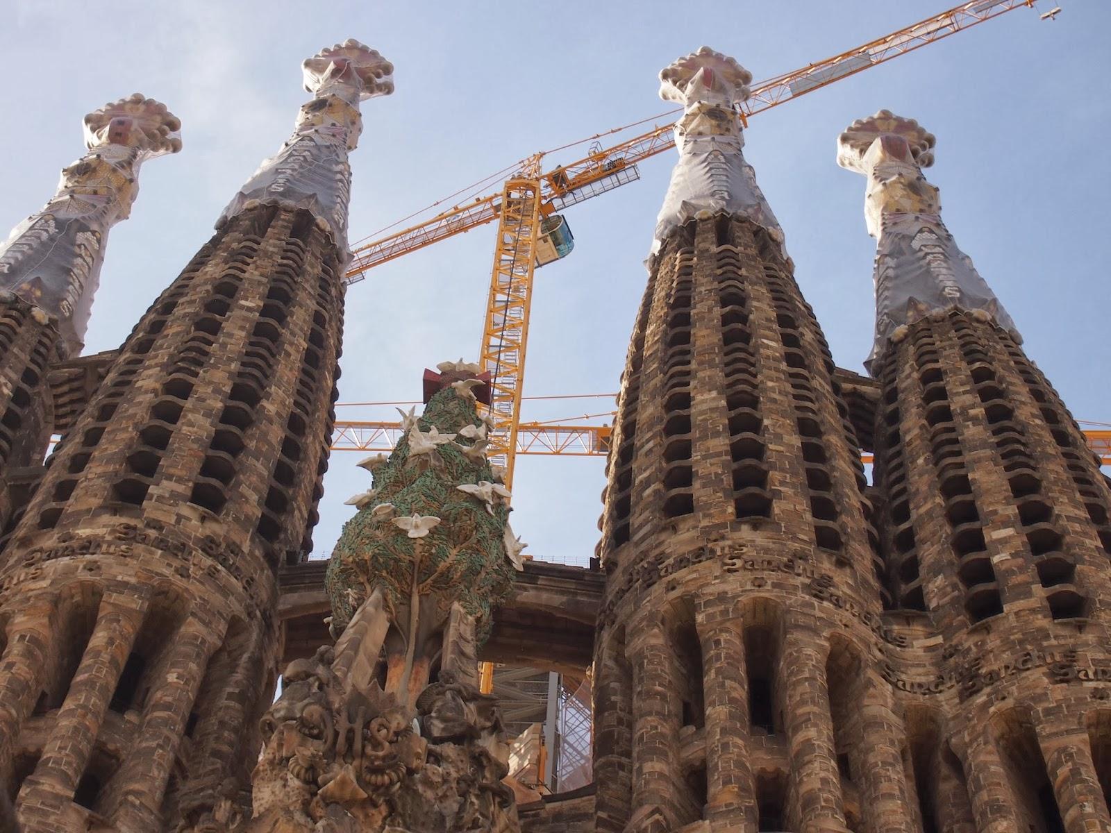 Details of Sagrada Familia